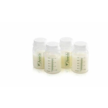 4 Pack Breast Milk Storage Bottles, Easily Collect And Store Pumped Breast Milk