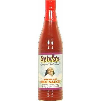 Sylvias Kicking Hot Hot Sauce 6.0 OZ (Pack of 3)