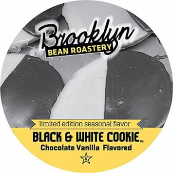 Brooklyn Bean Roastery Black and White Cookie Single Cup Coffee for Keurig K-Cup Brewers, 40 Count