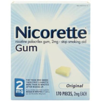 Nicorette Gum, Original, 2 mg, 170 Count Box