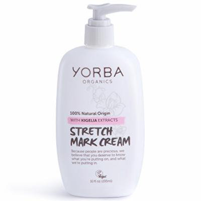 Yorba Organics Stretch Mark Cream with Kigelia Extracts, 10 Fluid Ounce