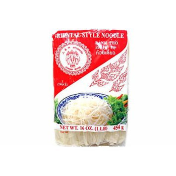 Oriental Style Noodle (Size L / Banh Pho) - 16oz (Pack of 1)