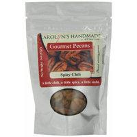 Carolyn's Handmade Gourmet Platinum Snack Bag, Spicy Chili Pecans, 2 Ounce