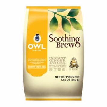 Owl Ginger Tea with Honey, 360-Grams (Pack of 5)