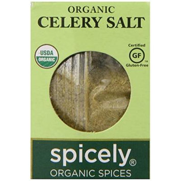 Spicely Organic Celery Salt - Compact