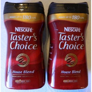 Nescafe Taster's Choice Instant Coffee House Blend 12oz. (Pack of 2)
