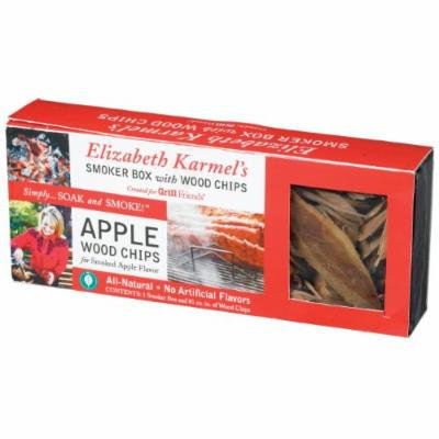 Elizabeth Karmel's 9 by 3.5 by 1.5-Inch Non-Stick Smoker Box with Apple Wood Chips