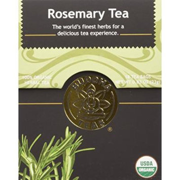 Rosemary Tea - Organic Herbs - 18 Bleach Free Tea Bags
