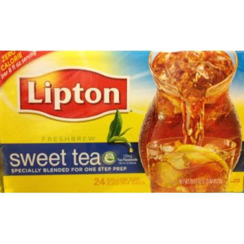 24 Gallon Size Lipton Sweet Iced Tea Bags (1 Box per order)