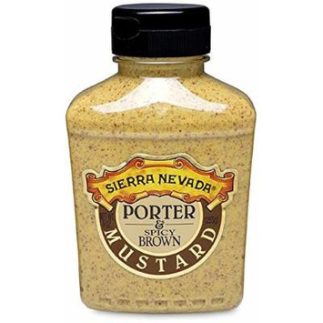 Sierra Nevada Porter & Spicy Brown Mustard, 9 oz Sqz (3 Pack)