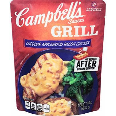 Campbell's® Cheddar Applewood Bacon Chicken Grill Sauces