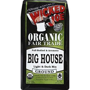 WICKED JOE COFFEE COFFEE GROUND M/D ROAST, 12 OZ