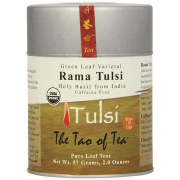 The Tao of Tea Green Leaf Tulsi, 2.0-Ounce Cans (Pack of 4)