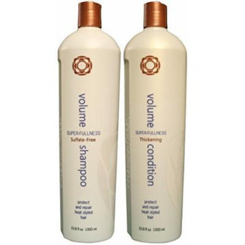 Thermafuse Volume Shampoo & Conditioner Duo Liter Size 33.8 oz
