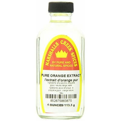 Marshalls Creek Spices, Pure Orange Extract, 4 Ounce
