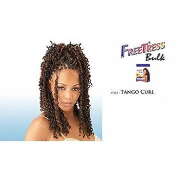 TANGO CURL (1 Jet Black) - Shake N Go FreeTress Bulk Braiding Synthetic Weave Extension