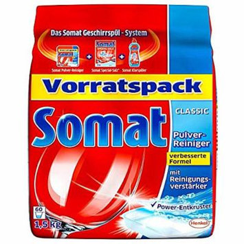 Somat Dishwasher Detergent Powder with Active Oxygen -PACK of 5 X 1.2 Kg