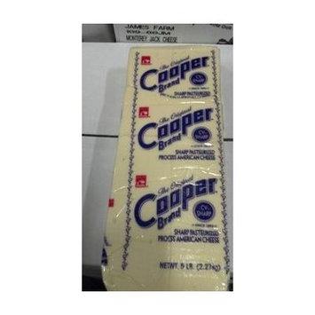 Cooper Brand: Sharp American Cheese 5 Lb.