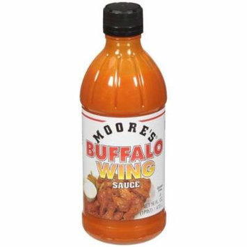 Moore's Sauce, Buffalo Wing, 16-Ounce (Pack of 3)