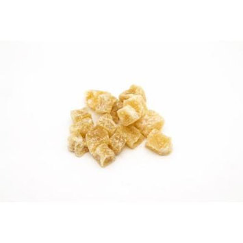 1 Pound of Crystallized Ginger 12-20mm Cubes