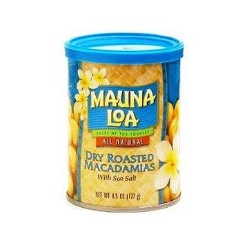 Hawaiian Gift Basket Mauna Loa Dry Roasted Macadamia Nuts & Sea Salt 6 Cans