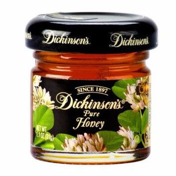 Dickinson's Pure Honey 72 - 1.1 Oz. Glass Jars / Case
