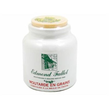 Full Grain Mustard (Moutarde En Grains) By Fallot
