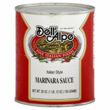 Dell' Alpe Italian Style Marinara Sauce, 28-Ounce (Pack of 12)