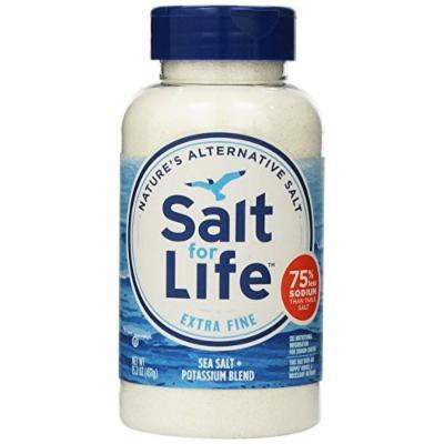 Salt for Life Sea Salt Plus Potassium Blend, 15.2 Ounce