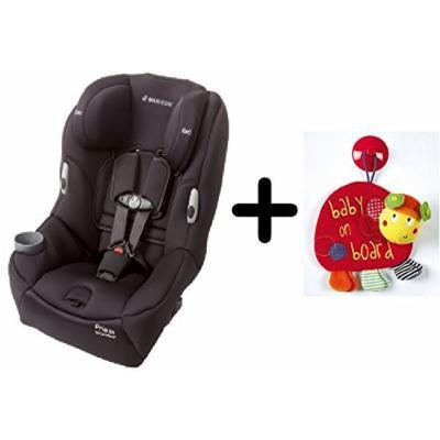 Maxi-Cosi Pria 85 Convertible Car Seat - Devoted Black + Free Mamas & Papas Baby on Board