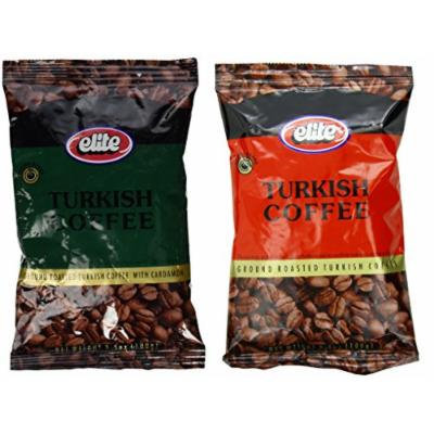 Assorted ELITE Turkish Coffee With Cardamon and Elite Roasted Coffee, Includes Our Exclusive HolanDeli Chocolate Mints