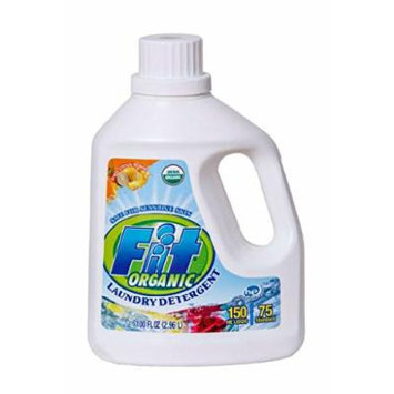 Fit Organic Laundry Detergent, Fresh Citrus Scent, 100 Ounce