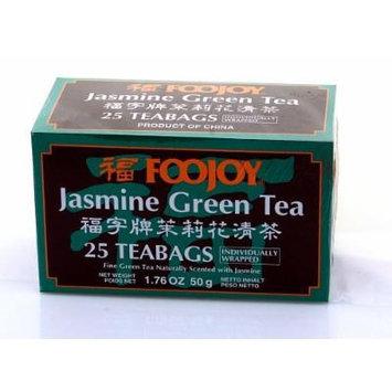 FooJoy Jasmin Green Tea (25 Tea Bags) - Individually Wrapped