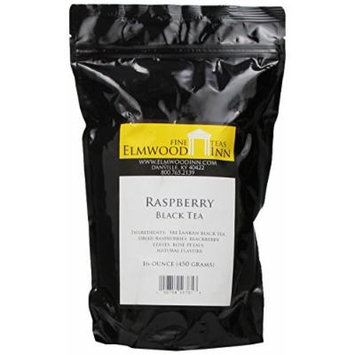 Elmwood Inn Fine Teas, Raspberry Black Tea, 16-Ounce Pouch