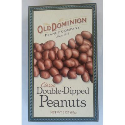 Old Dominion Classic Double Dipped Peanuts 3 OZ Box