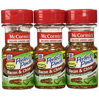 McCormick Perfect Pinch Seasoning, Bacon and Chive, 2.25 Ounce (Pack of 6)