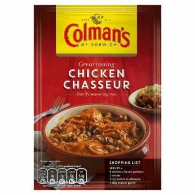 Colmans Chicken Chasseur Sachet 45g
