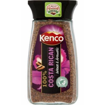 2 Jars Kenco Costa Rican Instant Coffee 3.5oz/100g