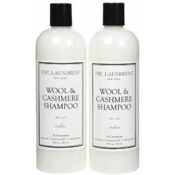 The Laundress Wool and Cashmere Shampoo, Cedar, 16 oz-2 pack