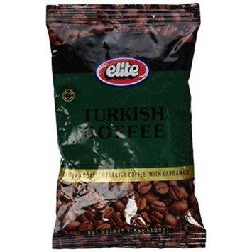 ELITE Turkish Coffee With Cardamon 3.5 Oz. (1 Pack)