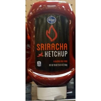 Kroger Sriracha Ketchup 20 Oz (Pack of 2)