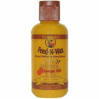 SET of 2 Howard FW0004 Feed-N-Wax Wood Polish and Conditioner, 4.7-Ounce