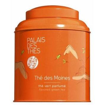 Palais des Thés Thé des Moines Black & Green Tea, 3.5oz Metal Canister
