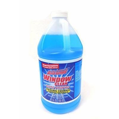 La's Totally Awesome Window Clean Vitre Purpose Glass and Surface Cleaner with Ammonia 64 oz refills - 1 bottle