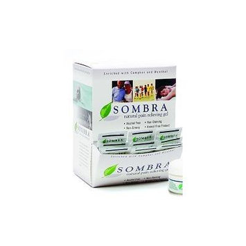 Sombra Natural Pain Relieving Gel, 100 pack sample dispenser