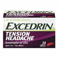 Excedrin Tension Headache Caplets-24 ea