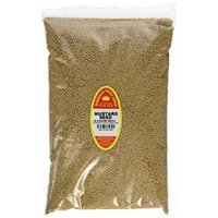 Marshalls Creek Spices Family Size Refill Mustard Seed Whole Seasoning, 48 Ounce