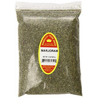 Marshalls Creek Spices X-Large Refill Marjoram, 3 Ounce