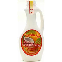Hawaiian Sun Premium Coconut Syrup 15.75-ounce (Pack of 6)
