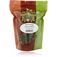 English Tea Store Loose Leaf, Blood Orange Flavored Black Tea, 4 Ounce